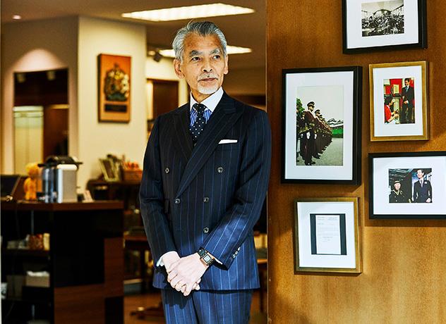 Mode advisor of Kindware Head store Eiji Nishihara